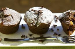 Bed and breakfast a Pienza – muffin arancia e cioccolato